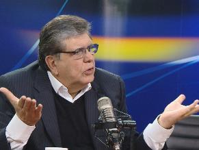 Megacomisión: Alan García se pronuncia sobre decisión del Congreso