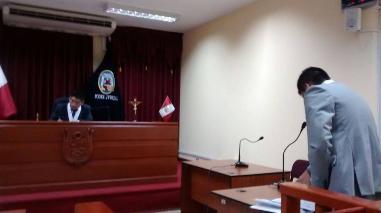 Casma: se realiza audiencia de prisión preventiva contra exalcalde
