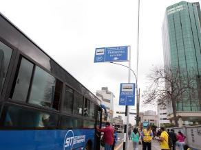 El 25 de abril vuelven los buses azules a avenida Javier Prado