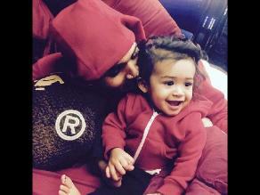 Chris Brown publicó dos tiernas fotos de su hija