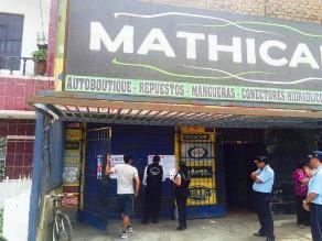 Trujillo: Clausuran cuatro establecimientos por invadir vía pública