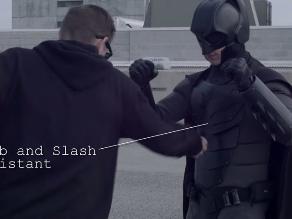 YouTube: joven crea traje protector inspirado en Batman