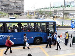 Corredor Javier Prado: consorcio reiniciará fase de prueba con 40 buses