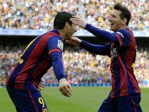 Barcelona sigue inalcanzable tras vencer 2-0 al Valencia en el Camp Nou