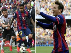 Liga Española: Barcelona y las imágenes de su triunfo con gol 400 de Messi