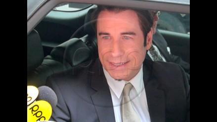 John Travolta sorprende con donación para centro de artes