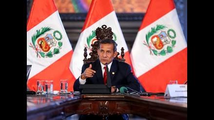 Aprobación de Ollanta Humala sube a 27 % en abril, según Ipsos