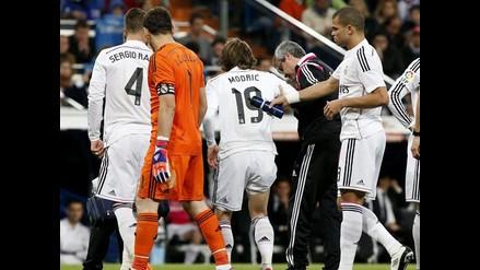 Real Madrid: Luka Modric fuera seis semanas por lesión y no jugará la Champions