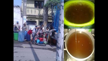 Corte de agua y agua sucia afectan a vecinos de VTM y VES