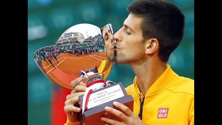 Novak Djokovic se coronó campeón en Montecarlo tras vencer a Tomas Berdych