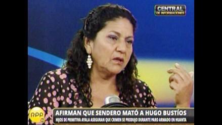 Hugo Bustíos: Hijos de Primitiva Ayala afirman que Sendero lo mató