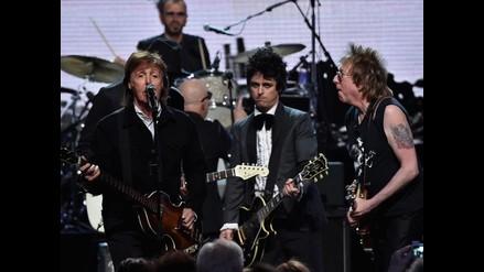 Ringo Starr y Green Day entraron al Salón de la Fama del Rock n Roll