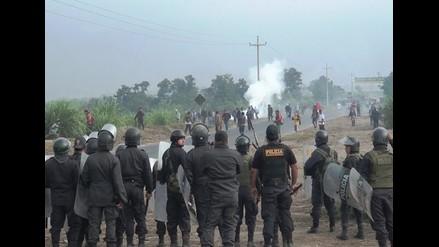 Policía Nacional en alerta tras conflicto en azucareras Pomalca y Tumán