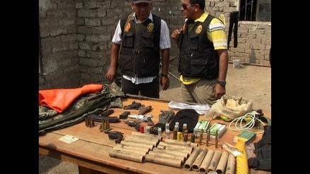 Tumbes: incautan más de 900 municiones en casa de playa