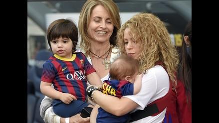 Shakira: Sasha hizo su debut en el estadio