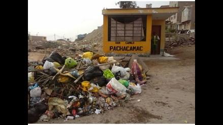 Botadero de basura atenta contra salud de vecinos en Pachacamac