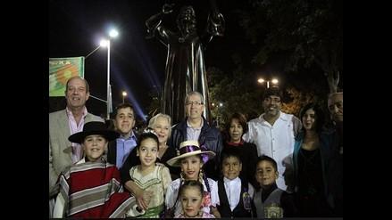 Chabuca Granda tiene su monumento en plaza de su mismo nombre en Chile
