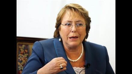 Bachelet insta a Bolivia a acatar fallo que determine La Haya