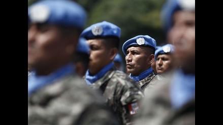 Contingente militar peruano viaja a Haití para Misión de Estabilización