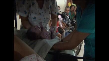 Mujer dio a luz en una mototaxi mientras iba al hospital de Yurimaguas