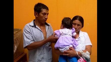 Trujillo: padres necesitan urgente ayuda para operar a bebé de 6 meses