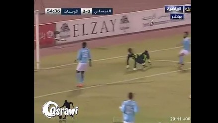 Youtube: En Jordania es anotado el mejor autogol de la historia del fútbol