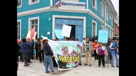Huancayo: pobladores exigen implementación de programa social