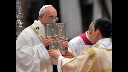 El papa Francisco criticó