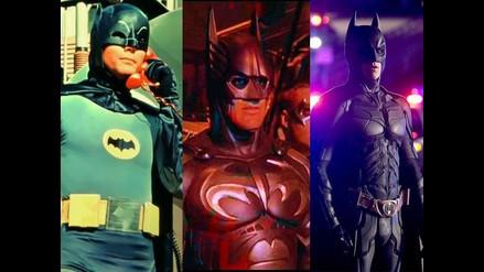 Batman: Ocho actores que han dado vida al superhéroe