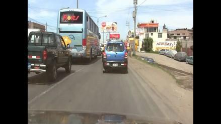 Ica: ómnibus interprovincial se despistó en Nasca