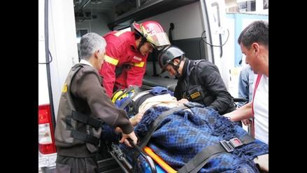 Cajamarca: un muerto y cinco heridos en despiste y vuelco de mototaxi