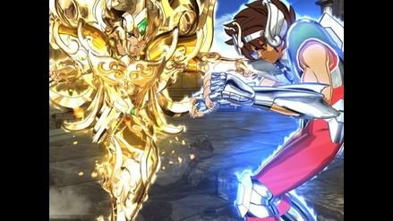 Mira imágenes del nuevo videojuego de Saint Seiya