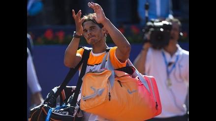Tenis: Rafael Nadal es derrotado por italiano Fabio Fognini en Barcelona