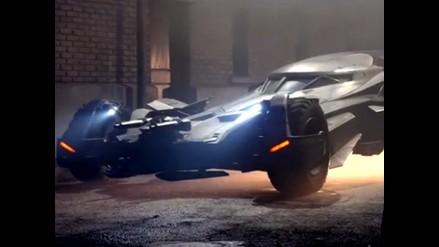 Batman: Revelan el diseño del nuevo batimóvil