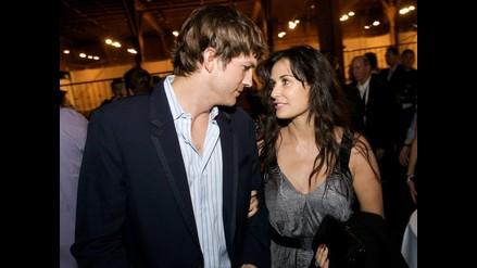 Hija de Demi Moore estuvo enamorada de Ashton Kutcher