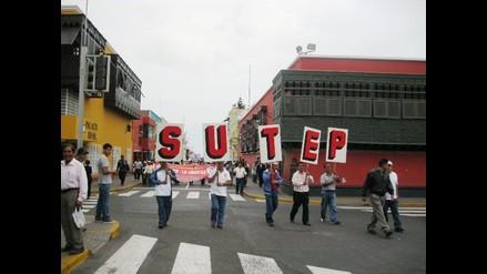 La Libertad: Sutep acatará paro nacional para el 14 de mayo
