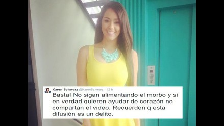 Milett Figueroa: Farándula en contra de violación de la intimidad