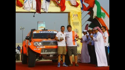 Raúl Orlandini quedó segundo en el Sealine Cross Country Rally 2015