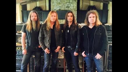 Esta es la nueva formación de Megadeth