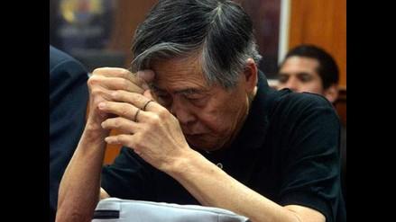 Alberto Fujimori fue trasladado a una clínica del Centro de Lima