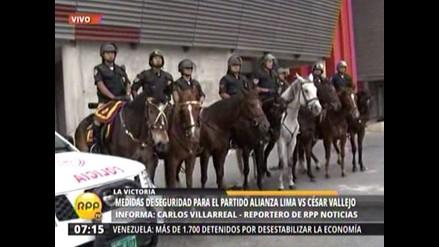 Alianza-César Vallejo: 1 500 policías resguardarán seguridad del partido