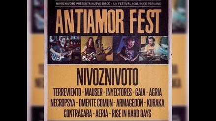 Antiamor Fest: presentan nuevo festival de rock nacional