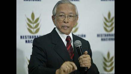 Humberto Lay anuncia que será candidato presidencial el 2016
