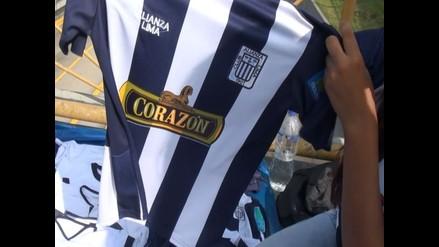 Alianza Lima vs. César Vallejo: Camisetas se venden como 'pan caliente'