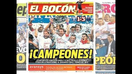 Alianza Lima vs. César Vallejo: Club 'poeta' acapara portadas por título