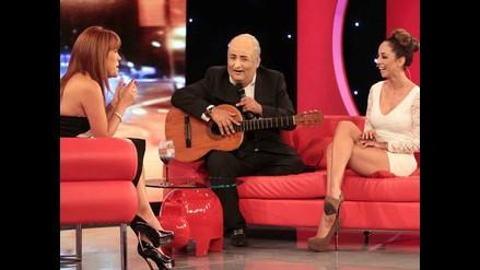 Magaly Medina parodió a Álamo Pérez Luna