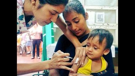 Minsa proyecta vacunar unos 85 mil niños en todo el país