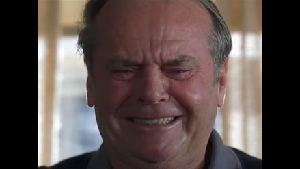 YouTube: Jack Nicholson 'llora' por nueva versión del Guasón