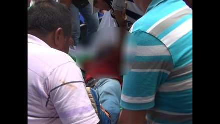 San Martín: chofer es asesinado en carretera Yurimaguas - Tarapoto