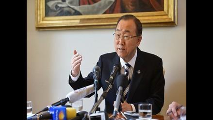 Ban Ki-moon: Combatir el cambio climático es